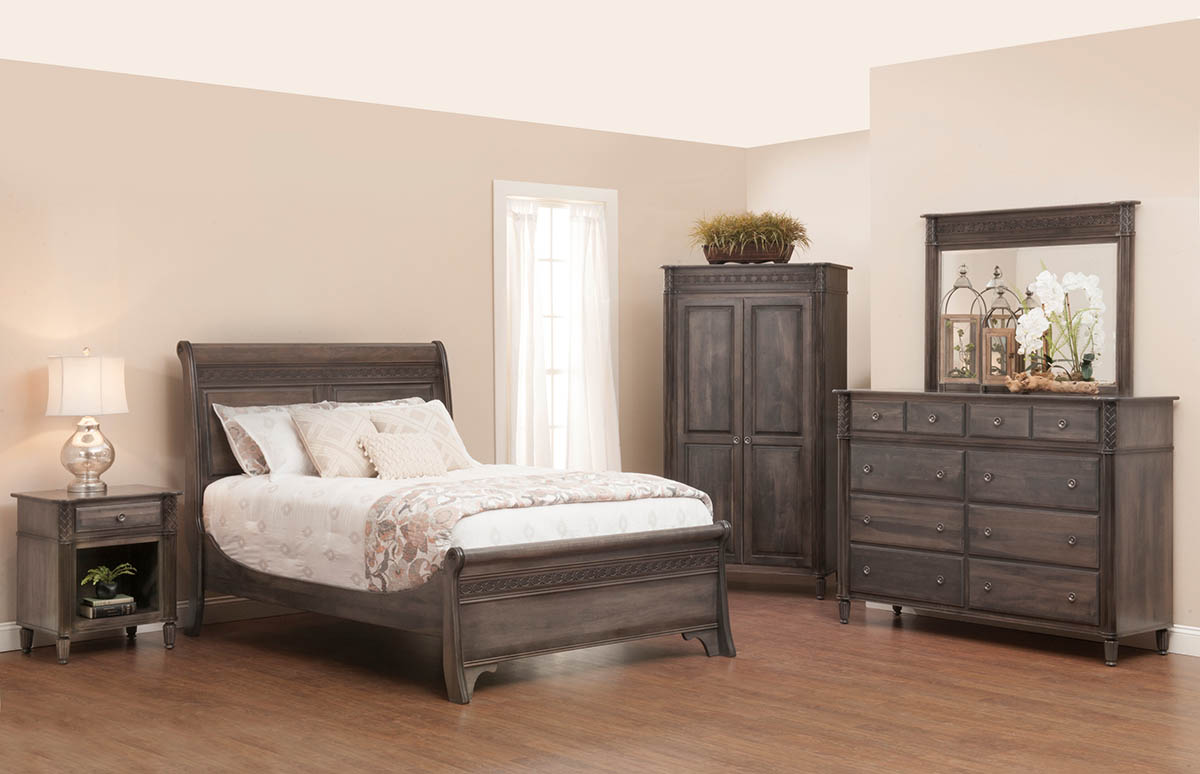 Eminence Bedroom Suite - Grey - 1200